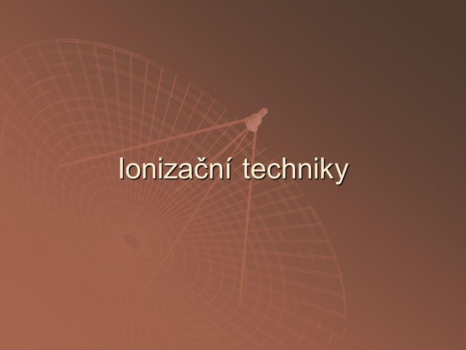 Ionizační techniky