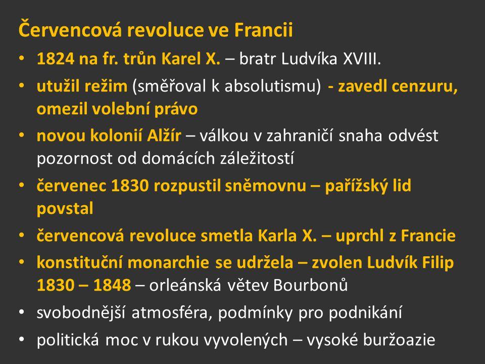 Červencová revoluce ve Francii