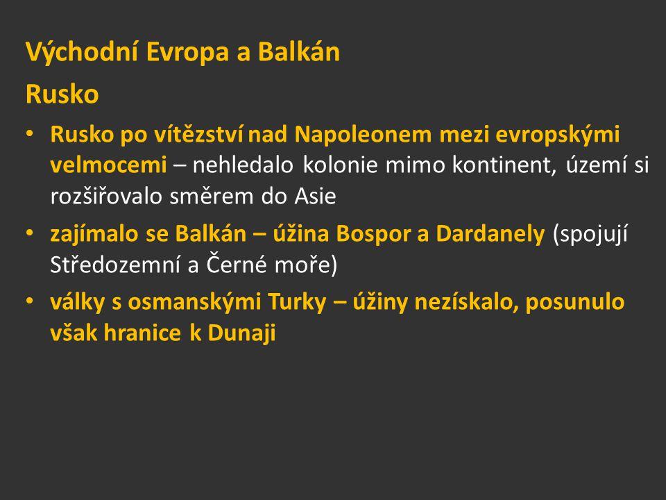 Východní Evropa a Balkán Rusko