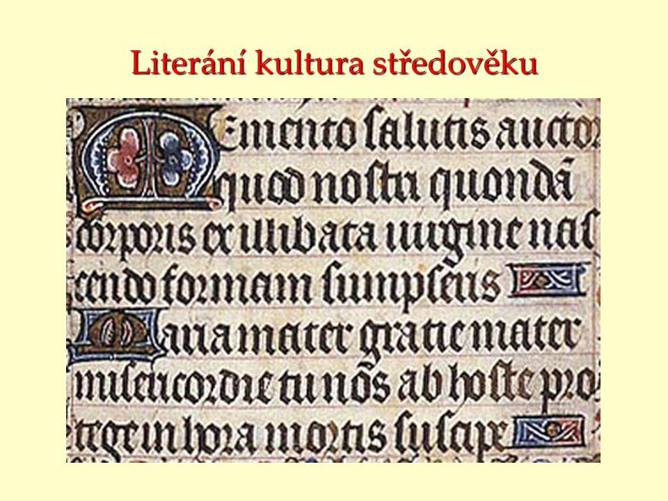 Literání kultura středověku