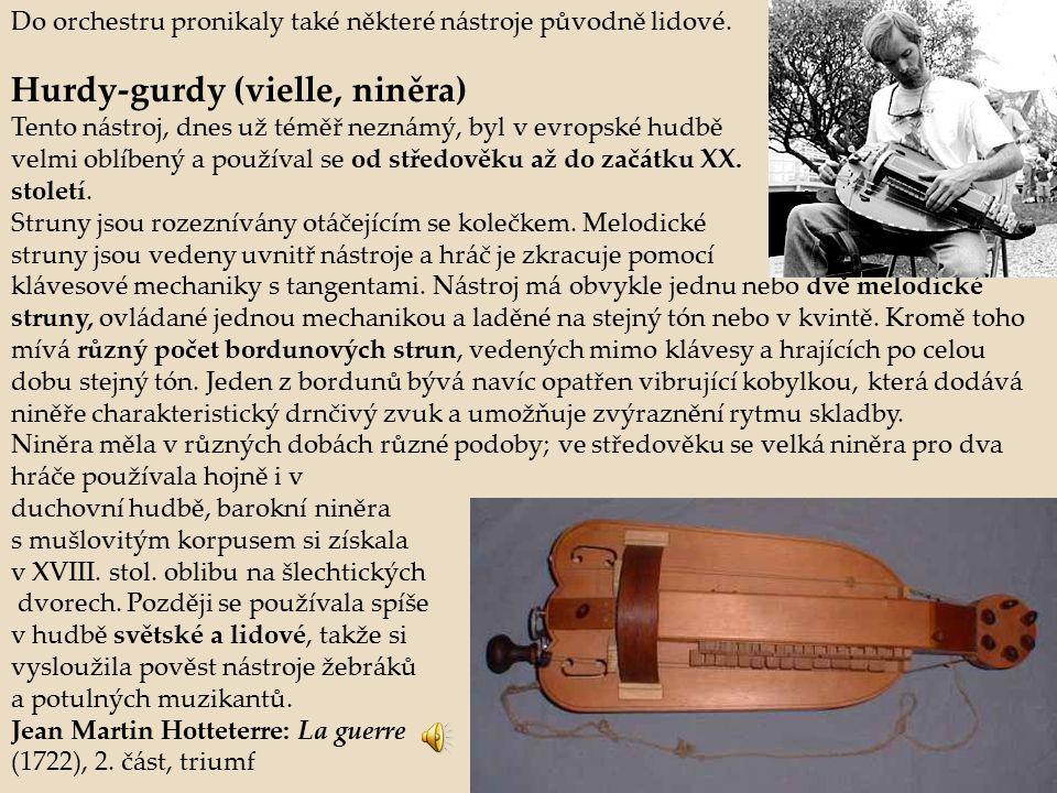Hurdy-gurdy (vielle, niněra)