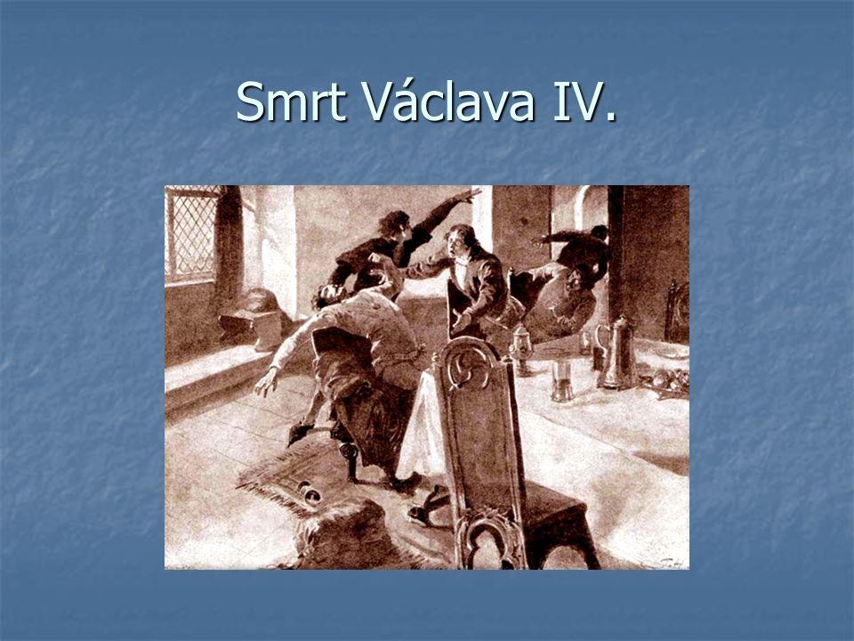 Smrt Václava IV.