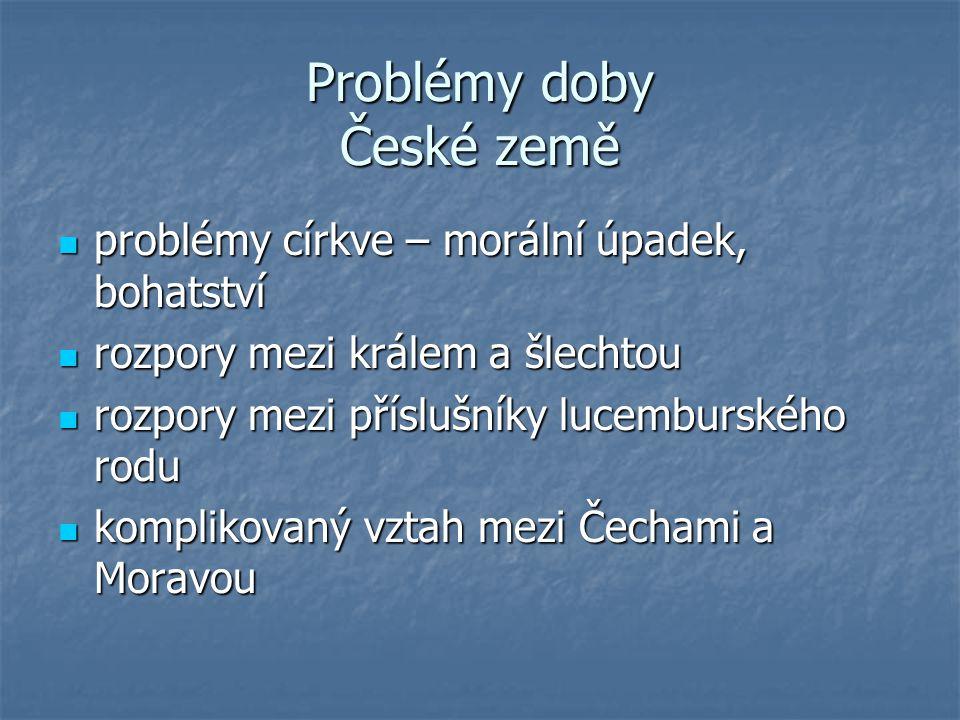 Problémy doby České země