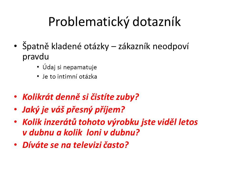 Problematický dotazník