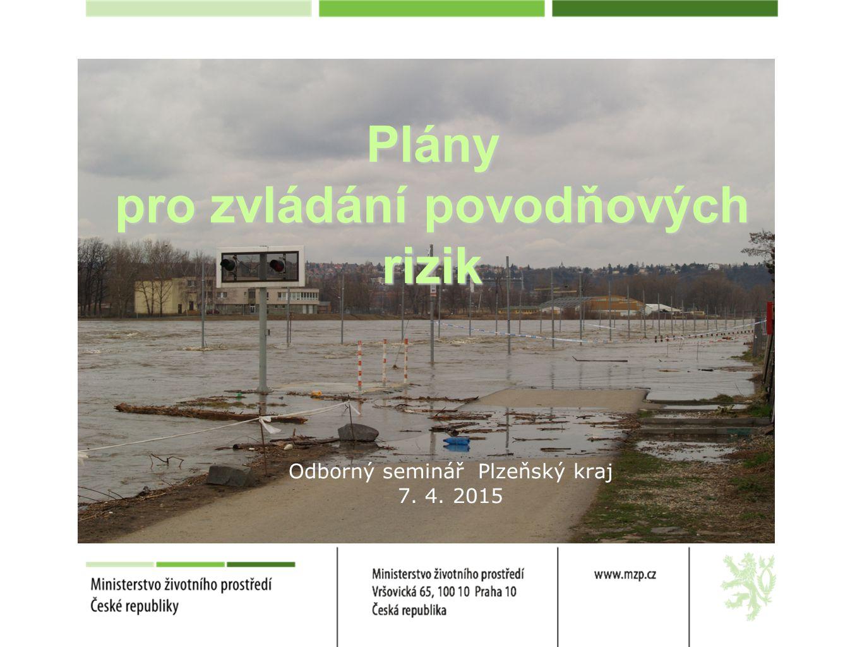 Plány pro zvládání povodňových rizik