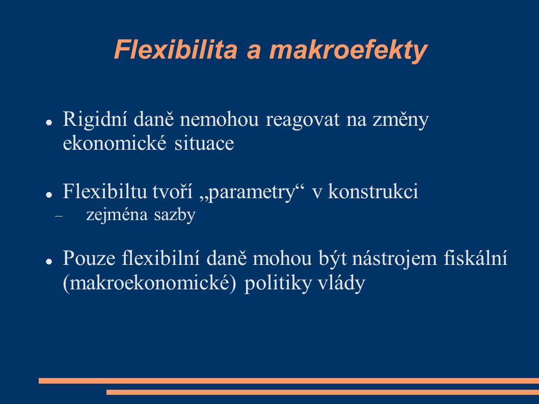 Flexibilita a makroefekty