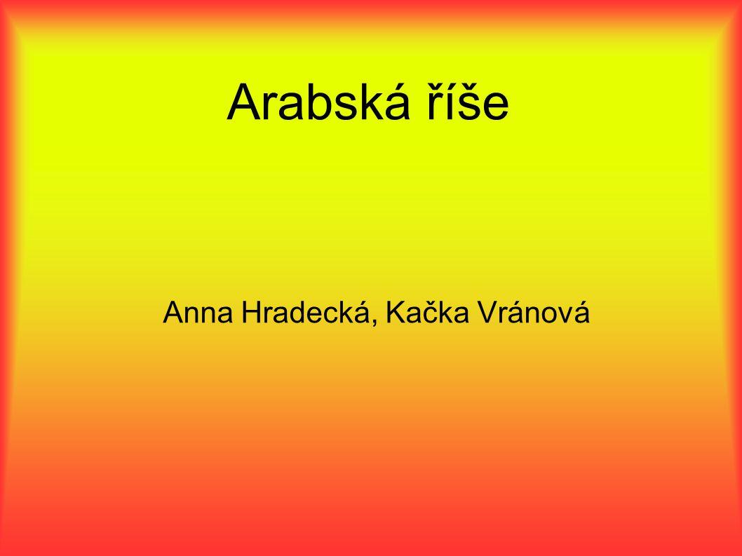 Anna Hradecká, Kačka Vránová