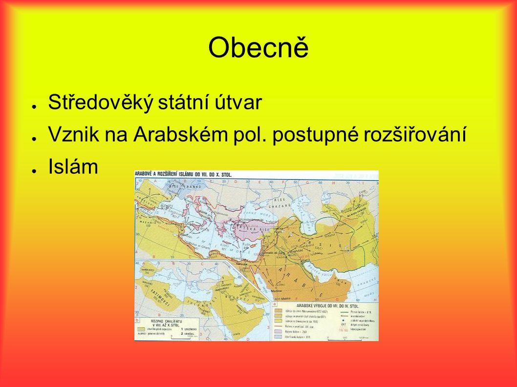 Obecně Středověký státní útvar