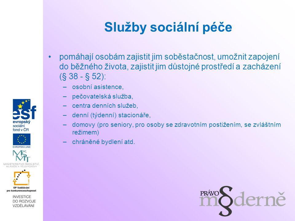 Služby sociální péče