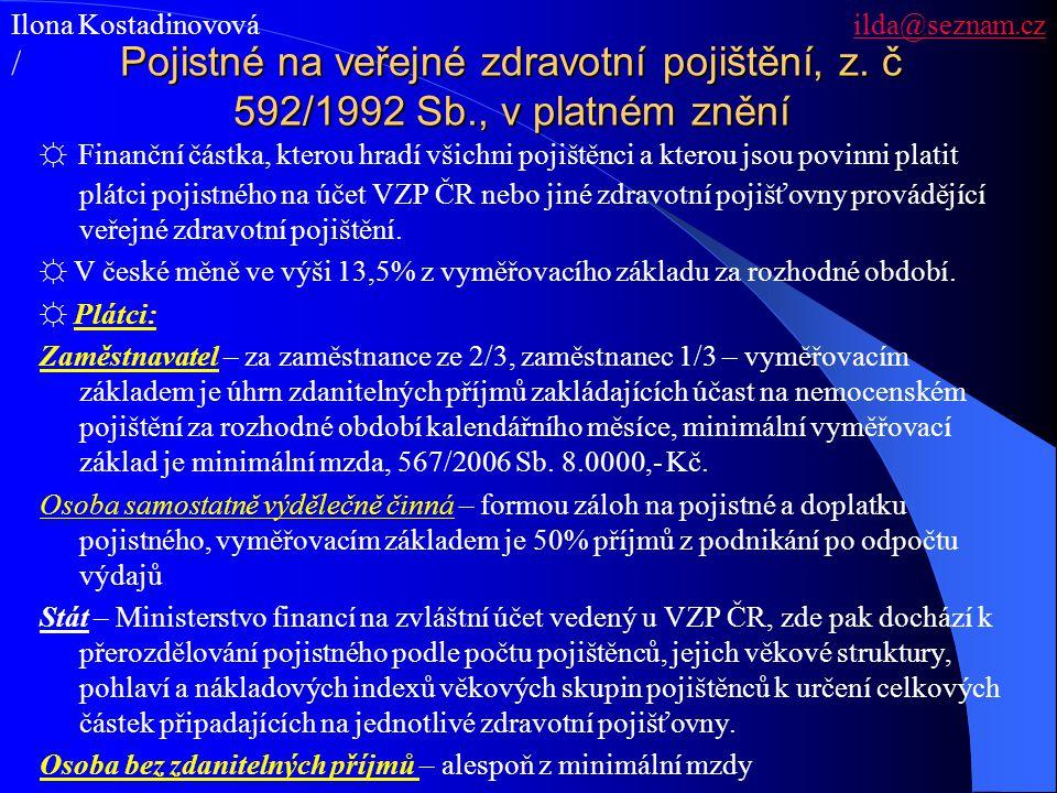 Ilona Kostadinovová ilda@seznam.cz
