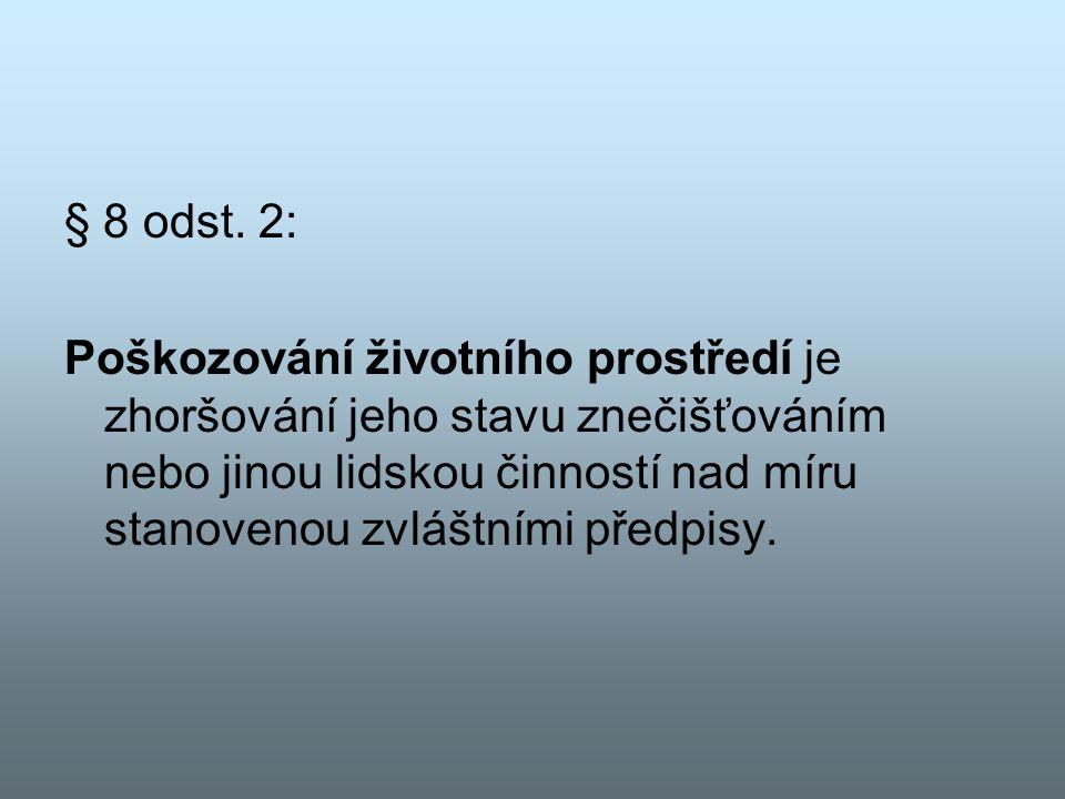 § 8 odst. 2: