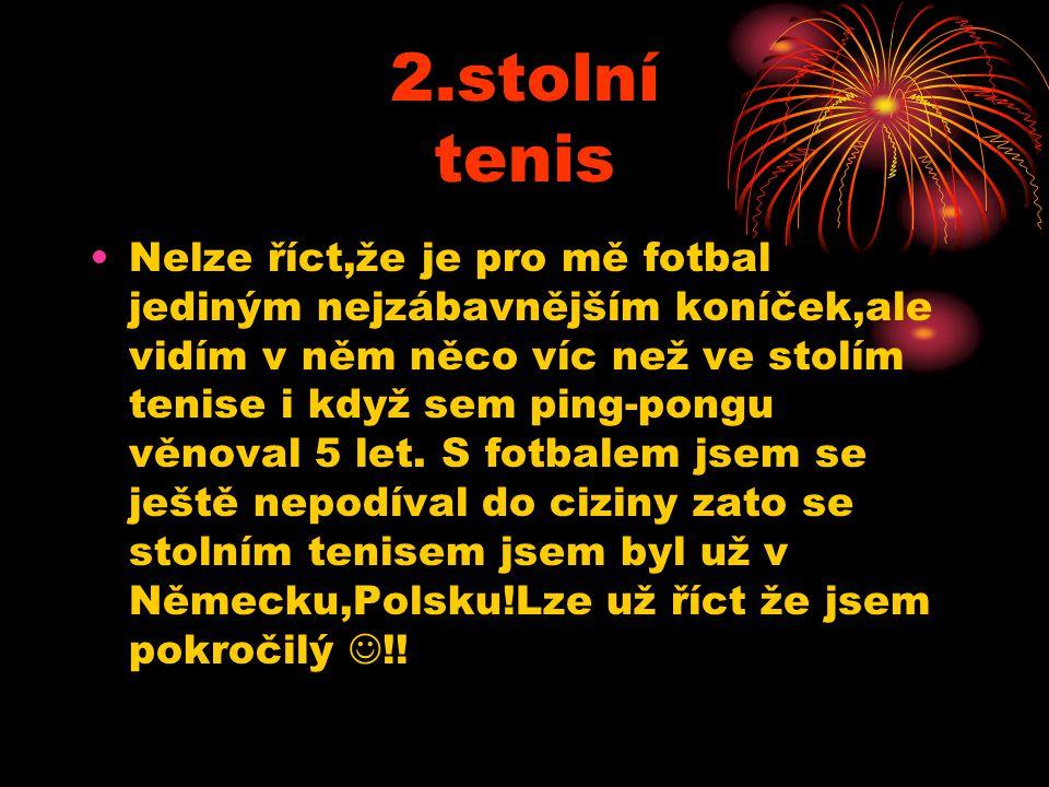 2.stolní tenis