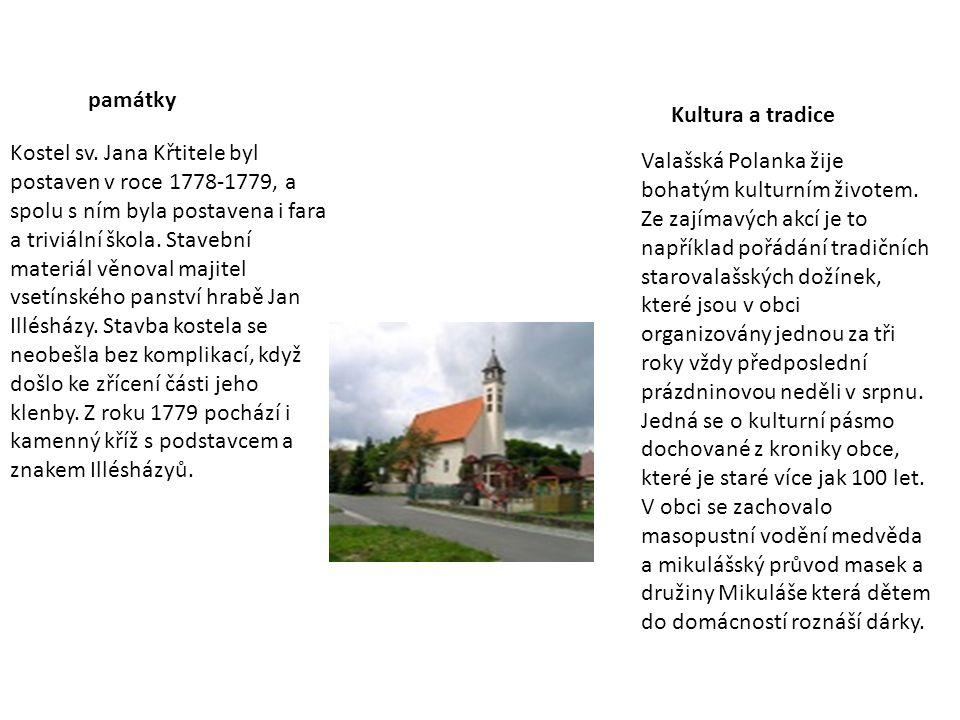 památky Kultura a tradice.