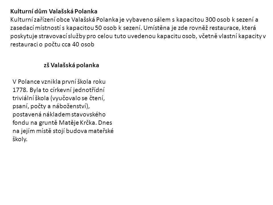Kulturní dům Valašská Polanka