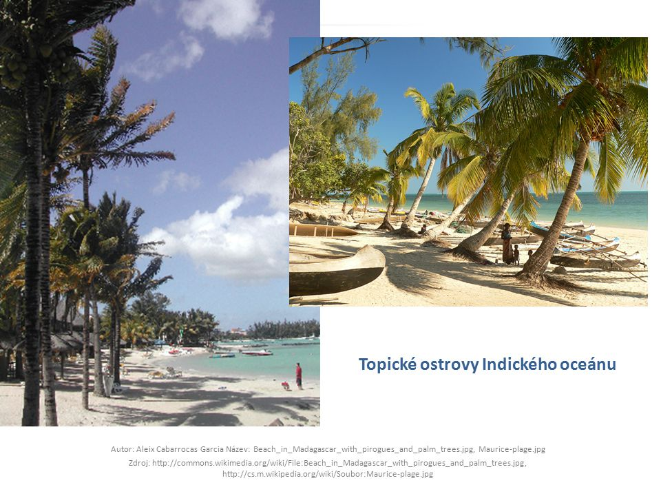 Topické ostrovy Indického oceánu