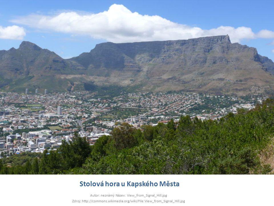 Stolová hora u Kapského Města