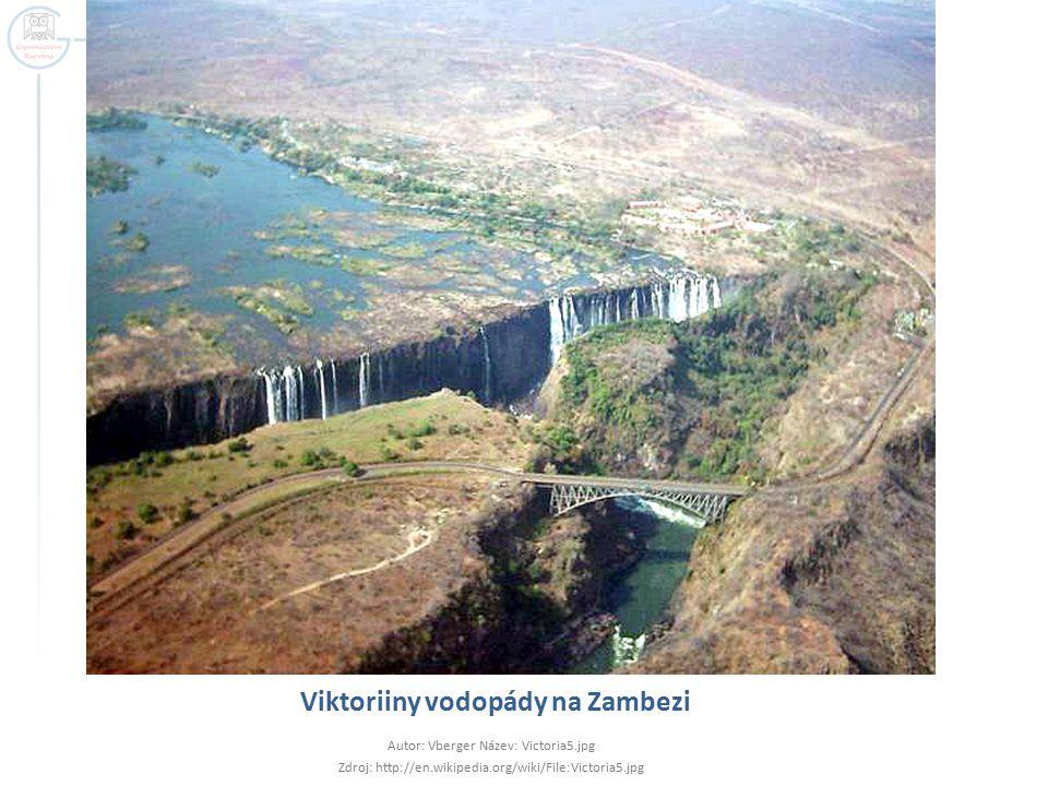 Viktoriiny vodopády na Zambezi