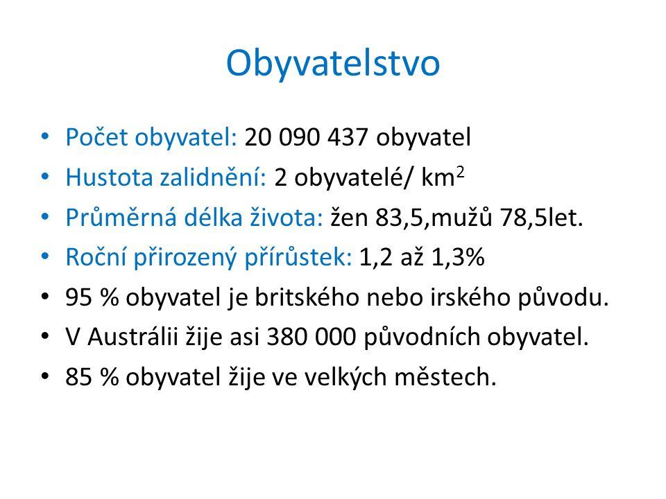 Obyvatelstvo Počet obyvatel: 20 090 437 obyvatel
