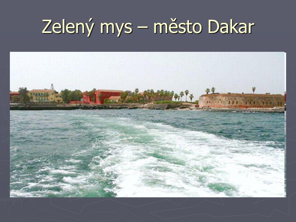 Zelený mys – město Dakar