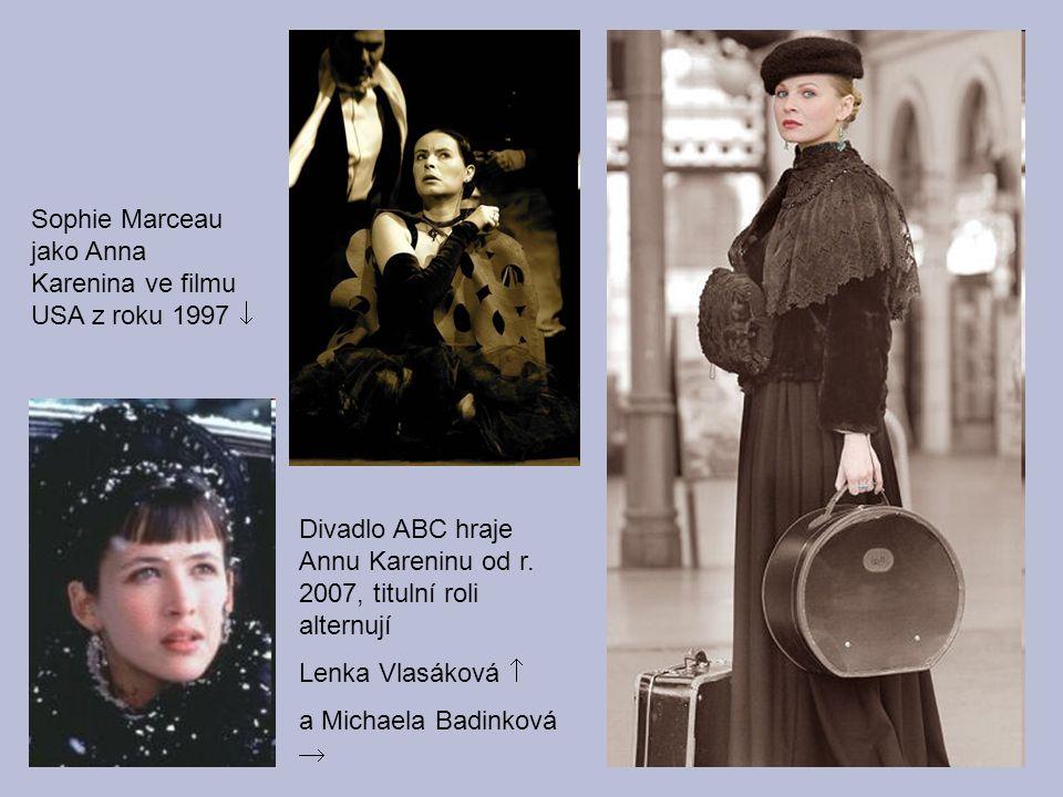 Sophie Marceau jako Anna Karenina ve filmu USA z roku 1997 