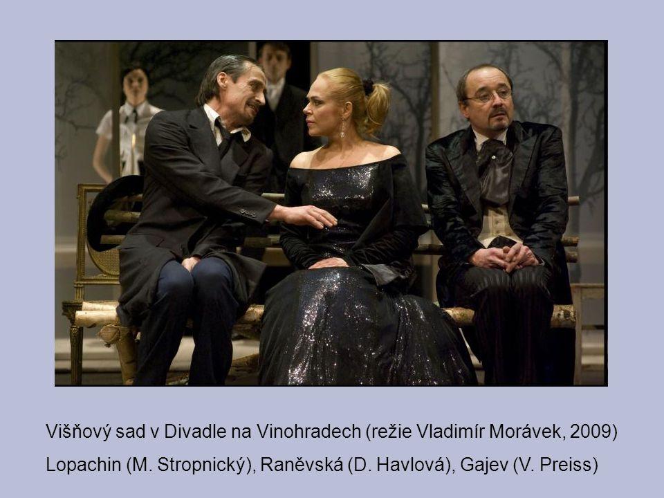 Višňový sad v Divadle na Vinohradech (režie Vladimír Morávek, 2009)