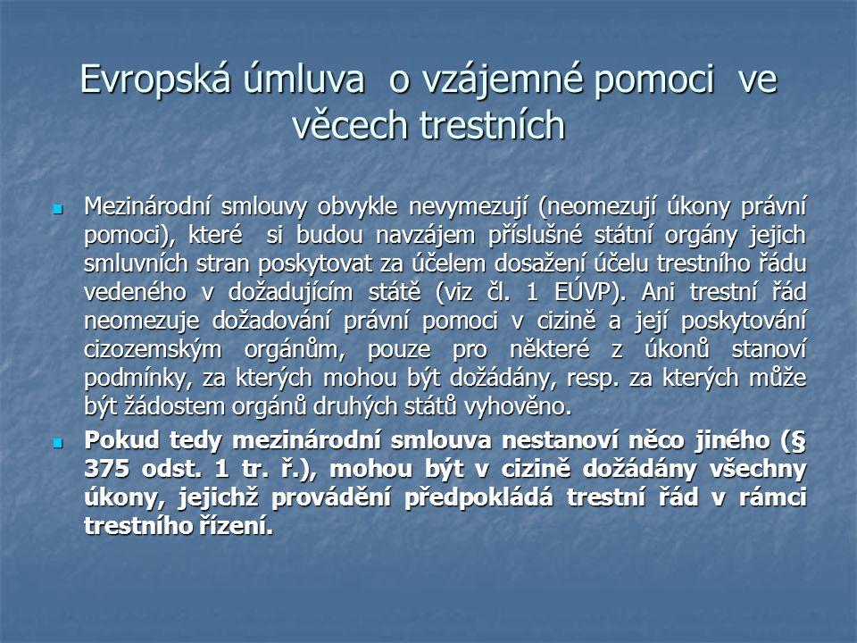 Evropská úmluva o vzájemné pomoci ve věcech trestních