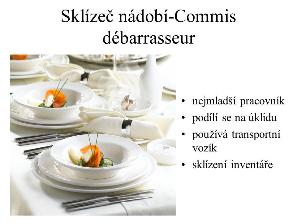 Sklízeč nádobí-Commis débarrasseur