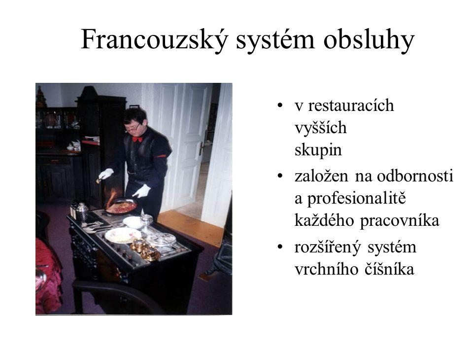 Francouzský systém obsluhy