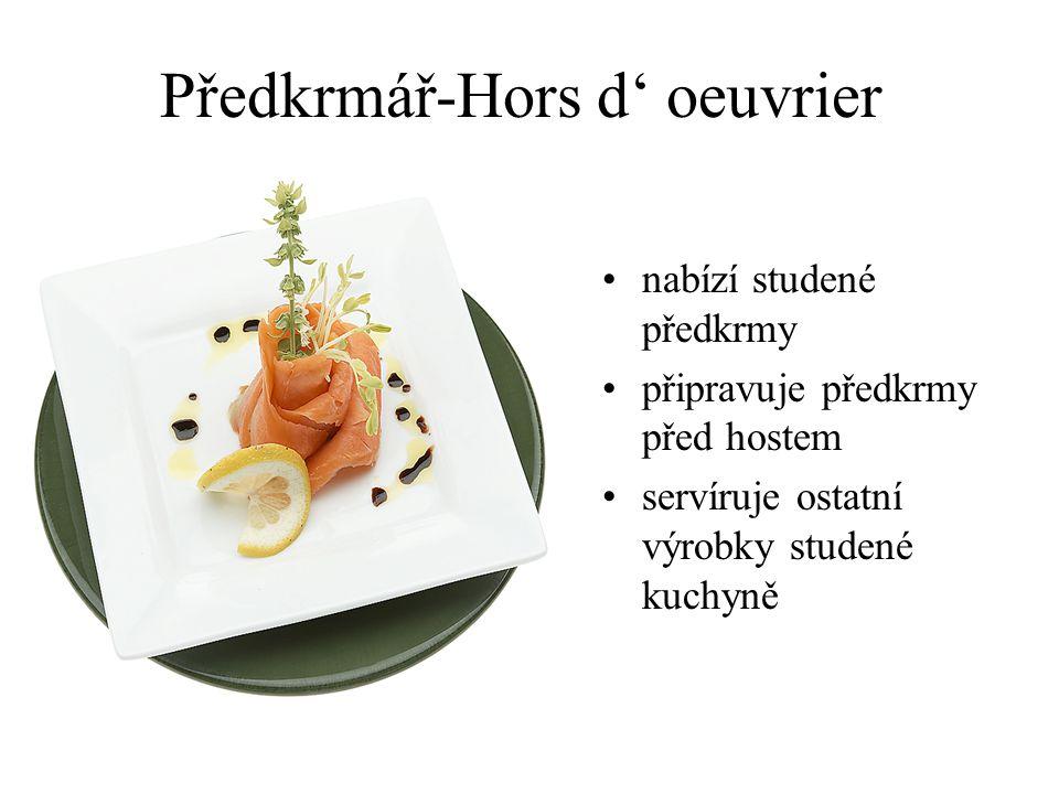 Předkrmář-Hors d' oeuvrier