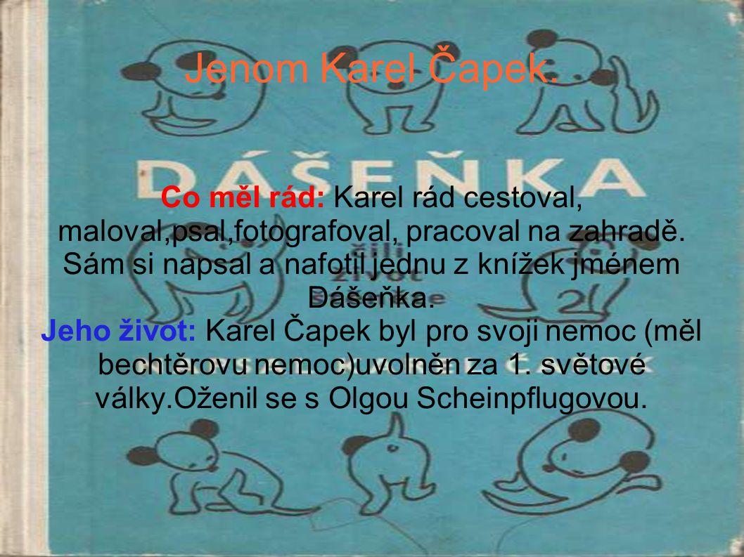 Jenom Karel Čapek.