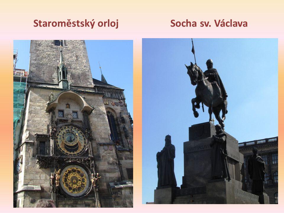 Staroměstský orloj Socha sv. Václava