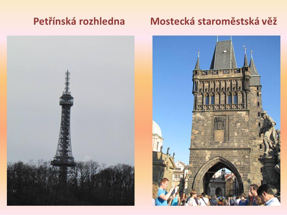 Mostecká staroměstská věž