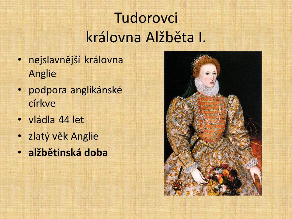 Tudorovci královna Alžběta I.