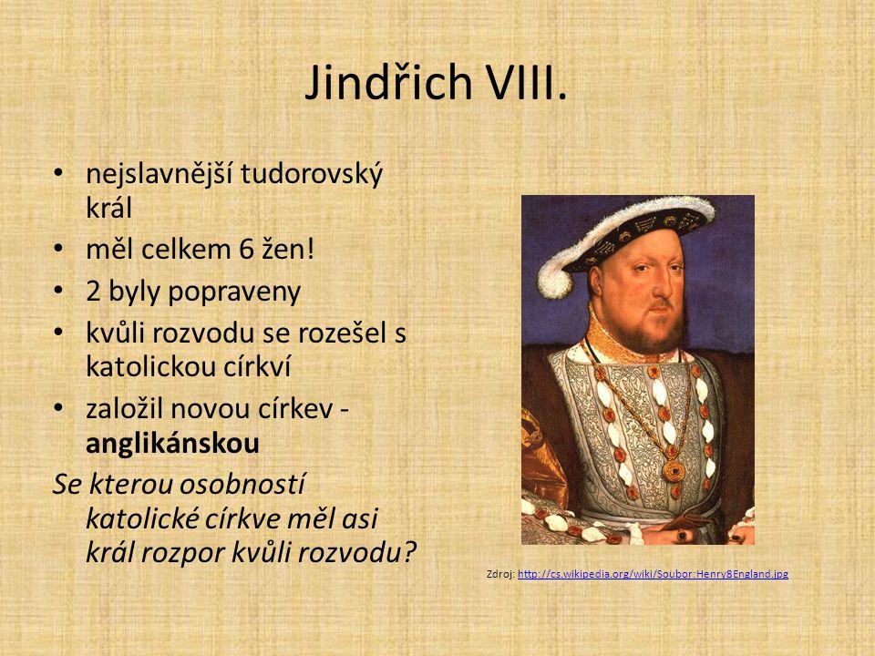 Jindřich VIII. nejslavnější tudorovský král měl celkem 6 žen!