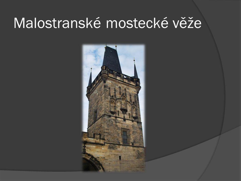 Malostranské mostecké věže