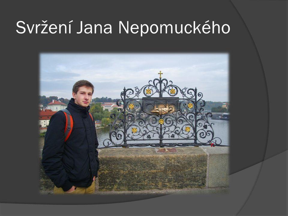 Svržení Jana Nepomuckého