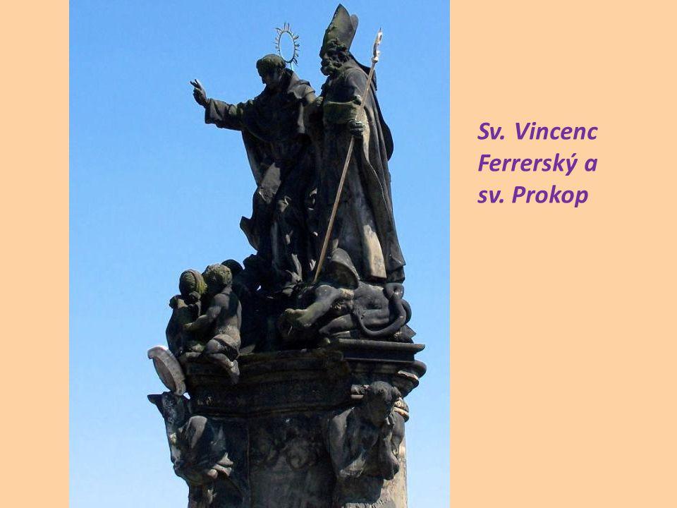 Sv. Vincenc Ferrerský a sv. Prokop