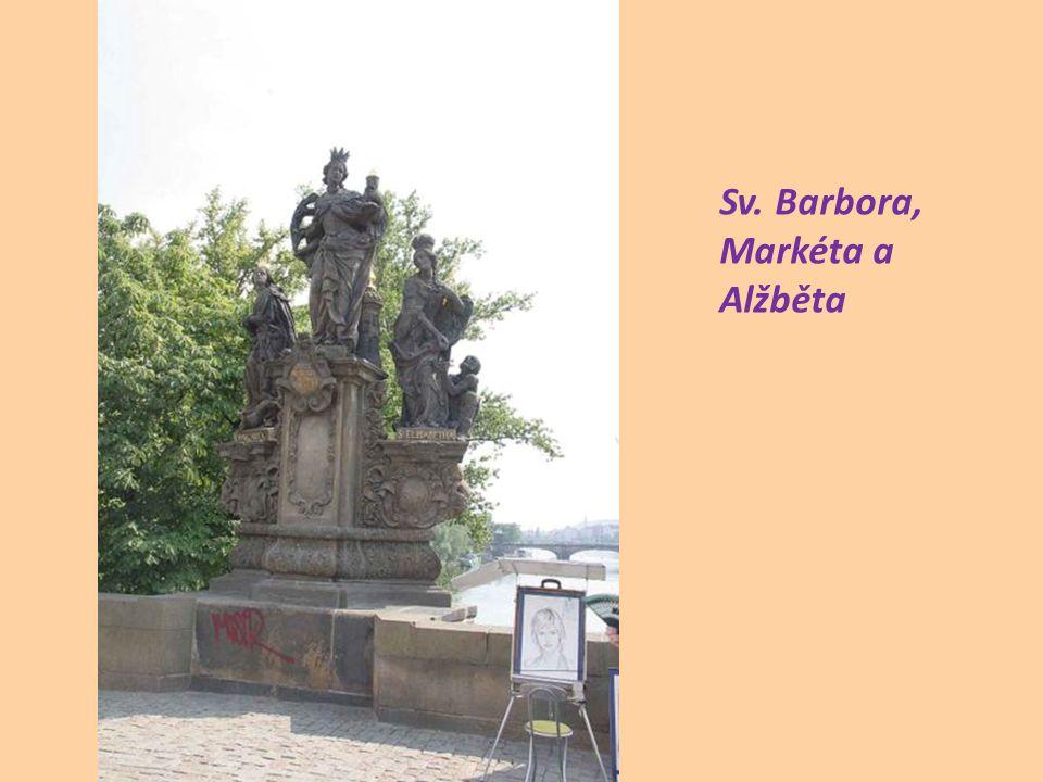 Sv. Barbora, Markéta a Alžběta