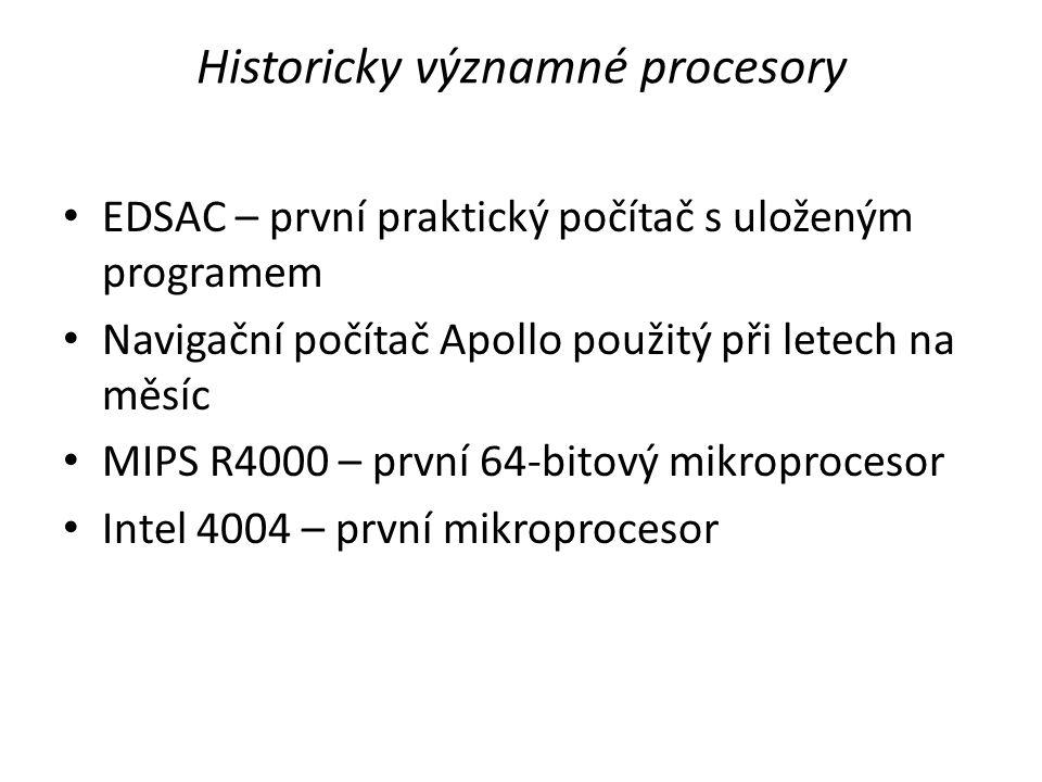 Historicky významné procesory