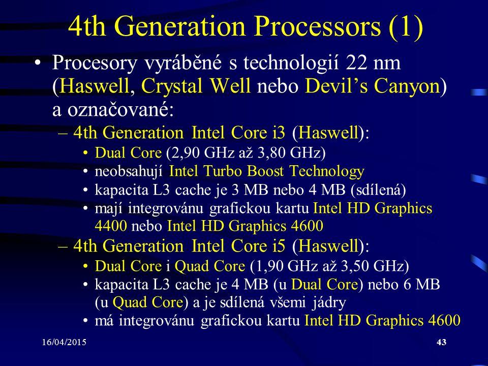 4th Generation Processors (1)