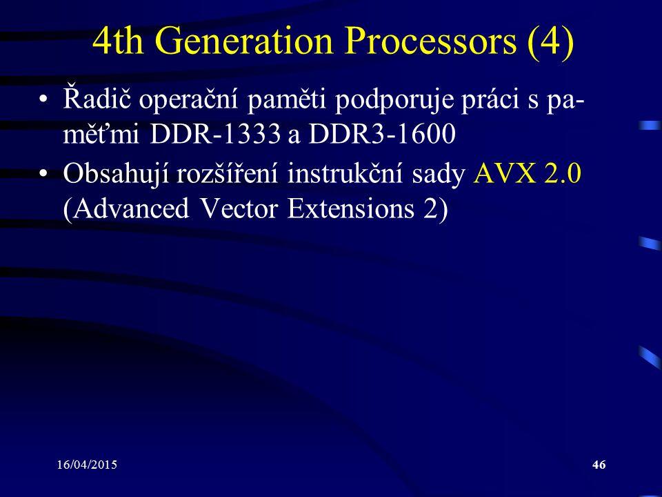 4th Generation Processors (4)
