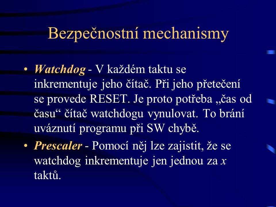 Bezpečnostní mechanismy