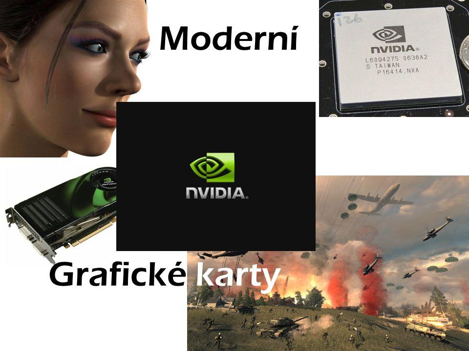 Moderní Grafické karty