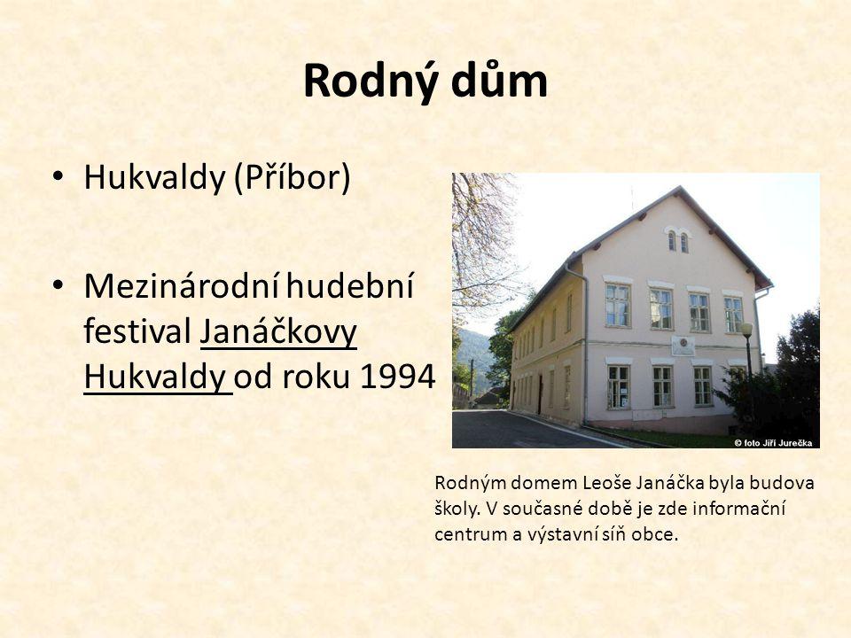 Rodný dům Hukvaldy (Příbor)