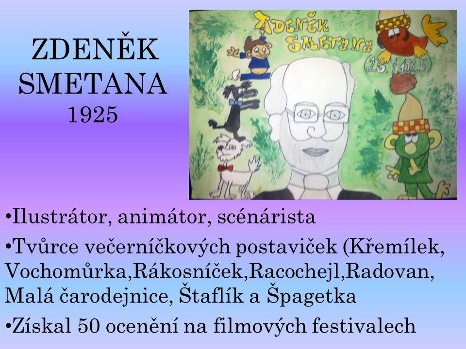 Ilustrátor, animátor, scénárista