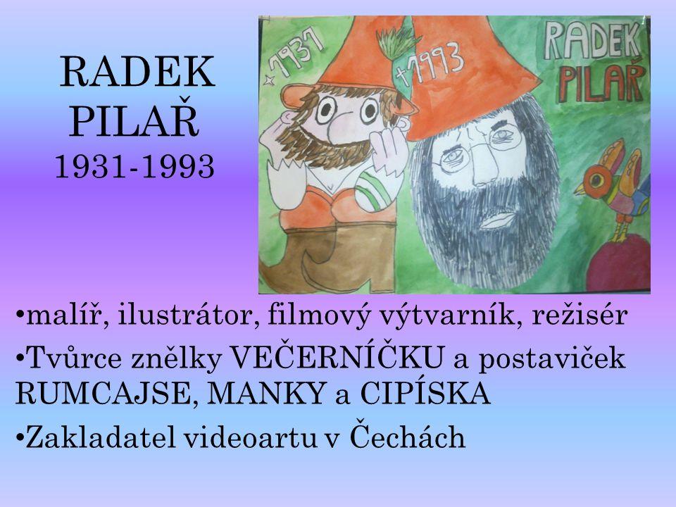 malíř, ilustrátor, filmový výtvarník, režisér