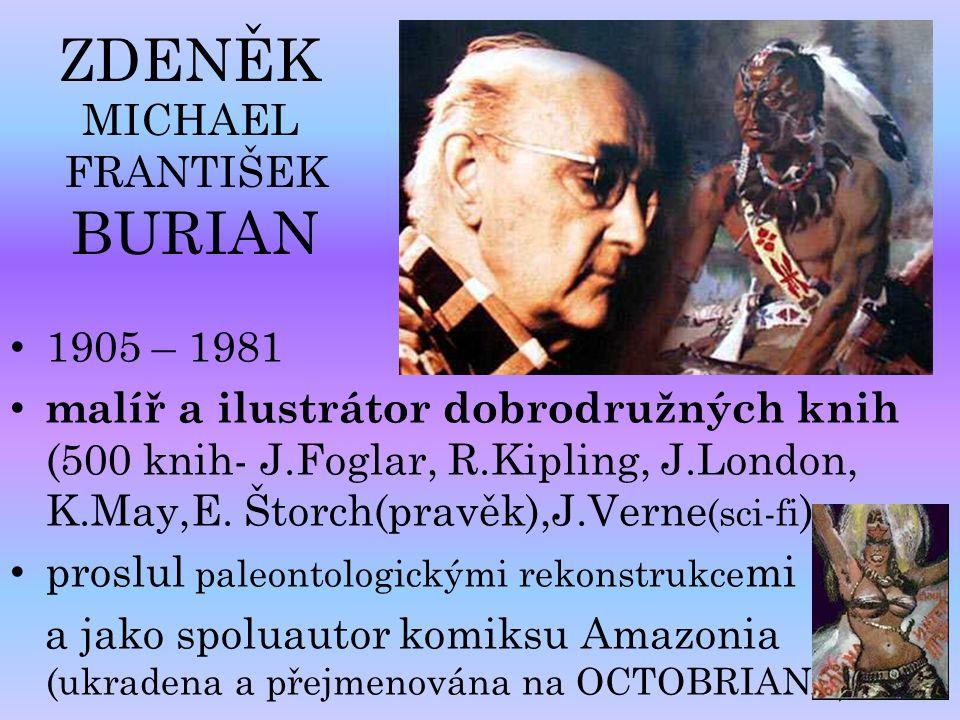 ZDENĚK MICHAEL FRANTIŠEK BURIAN