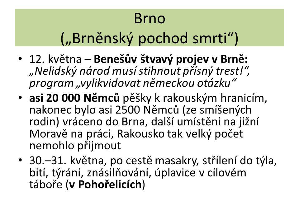 """Brno (""""Brněnský pochod smrti )"""
