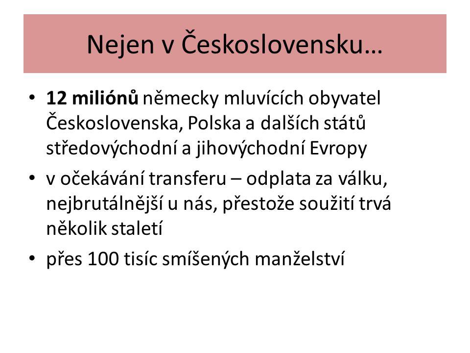 Nejen v Československu…