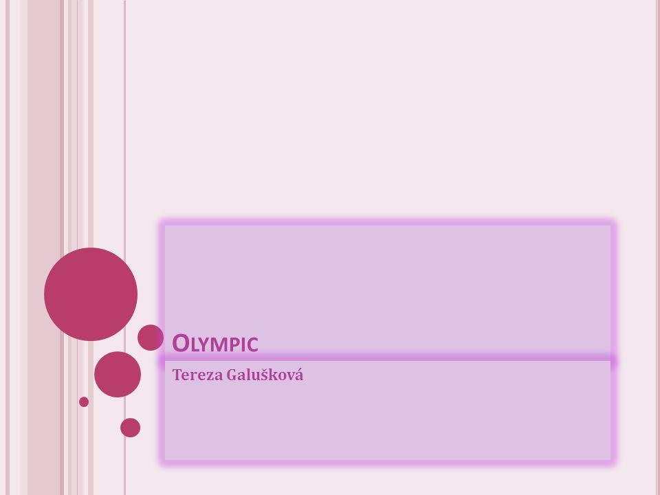 Olympic Tereza Galušková
